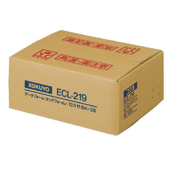 【コクヨ】タックフォームY8×T10 12片付 ECL-219 【送料無料】【配送方法は選べません】