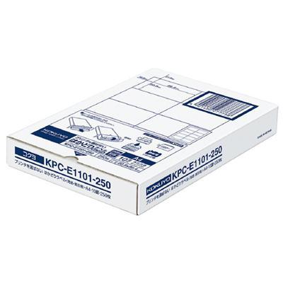 【コクヨ】プリンタを選ばないはかどりラベル KPC-E1101-250N 【送料無料】【配送方法は選べません】
