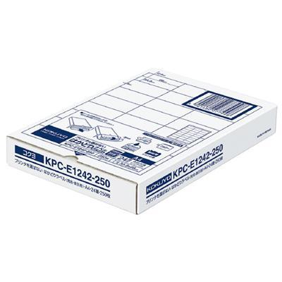 【コクヨ】プリンタを選ばないはかどりラベル KPC-E1242-250 【送料無料】【配送方法は選べません】