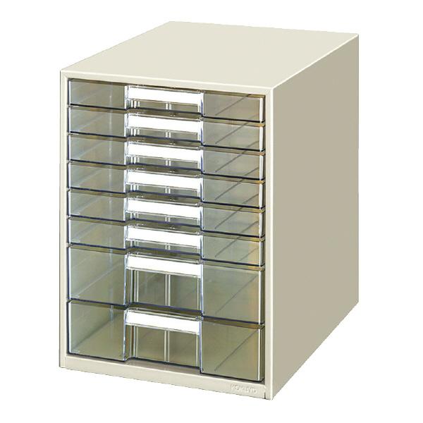 【コクヨ】レターケース透明プラスチック引出し LC-BG608M 【送料無料】【配送方法は選べません】