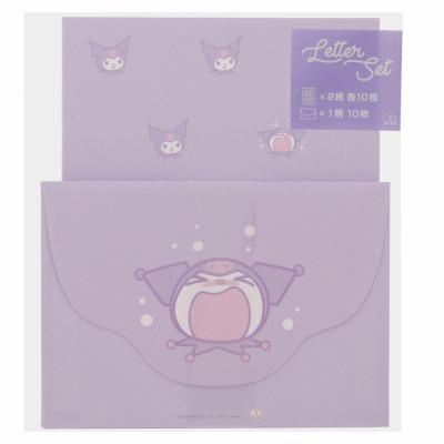 <title>サンスター 即出荷 レターセット クロミ S2088541 POP☆LUSH第2弾 手紙 日本製 サンリオキャラクター</title>
