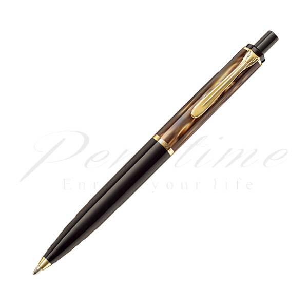 ペリカン ボールペン クラシック K200 マーブルブラウン brown<12000>【名入れ有料】【ラッピング無料】【メーカー保証】【ペンタイム】