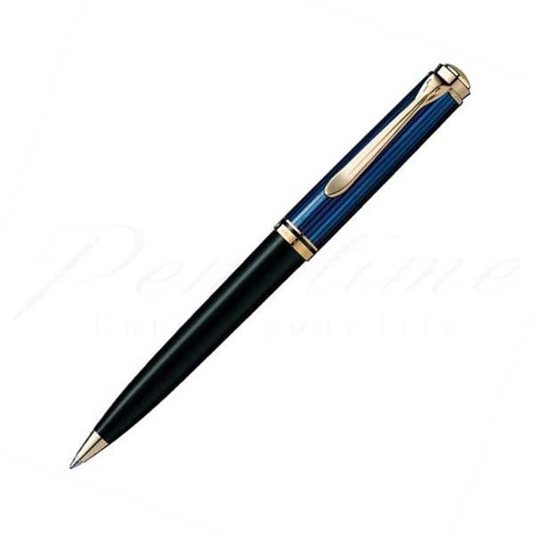 ペリカン ボールペン スーベレーン K800 青縞 blue<30000>【送料無料】【名入れ無料】【ラッピング無料】【メーカー保証】【ペンタイム】