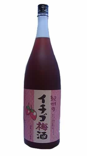 纪州的草莓梅酒(草莓梅酒)1800ML