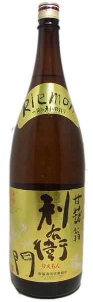 指宿酒造のレギュラー酒 指宿酒造 利右衛門 鹿児島 1800ml 送料無料でお届けします オンライン限定商品 芋焼酎