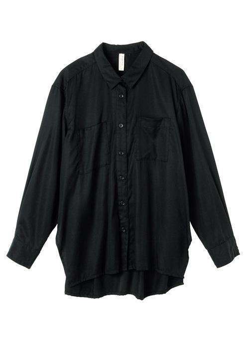 サイドスリットシャツ【フェアトレード】【ピープルツリー公式】【PeopleTree】