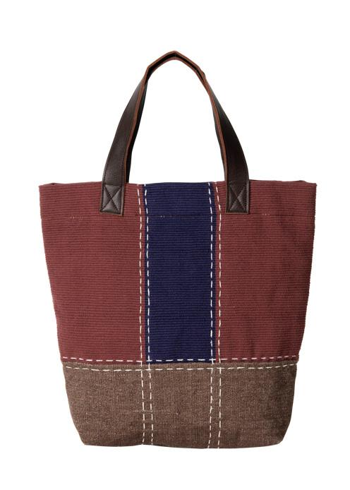 手織りカラーブロッキングトートバッグ【フェアトレード】【ピープルツリー公式】【PeopleTree】