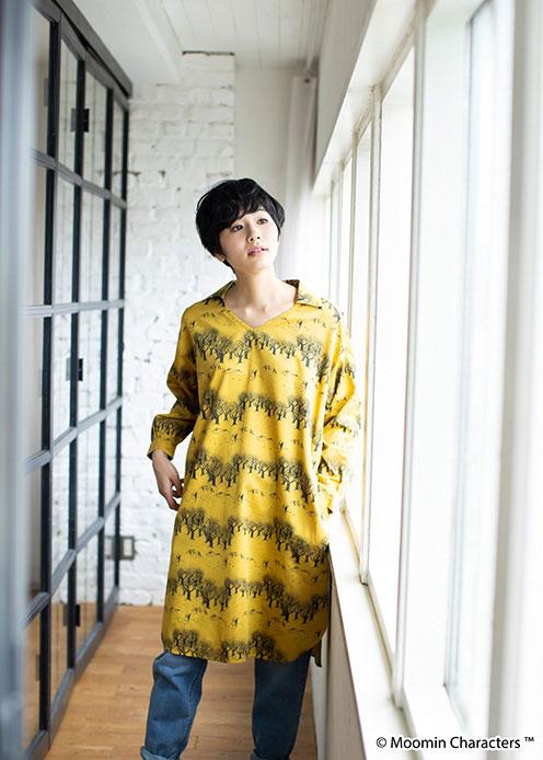 ムーミンオーガニックコットンボクシードレス フェアトレード ピープルツリー公式 正規認証品!新規格 在庫処分 PeopleTree ムーミン エシカル MOOMIN