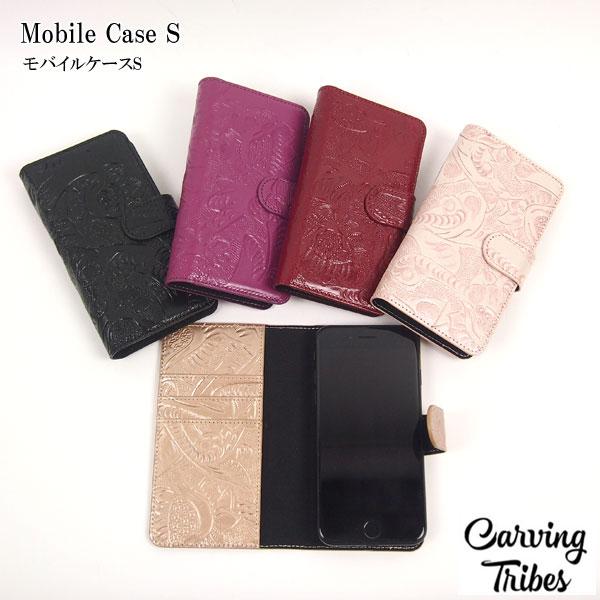 GRACE CONTINENTAL グレースコンチネンタル Mobile Case S モバイルケースS 18秋冬 全5色 48389508 Carving Tribes カービングトライブズ カービングバッグシリーズ