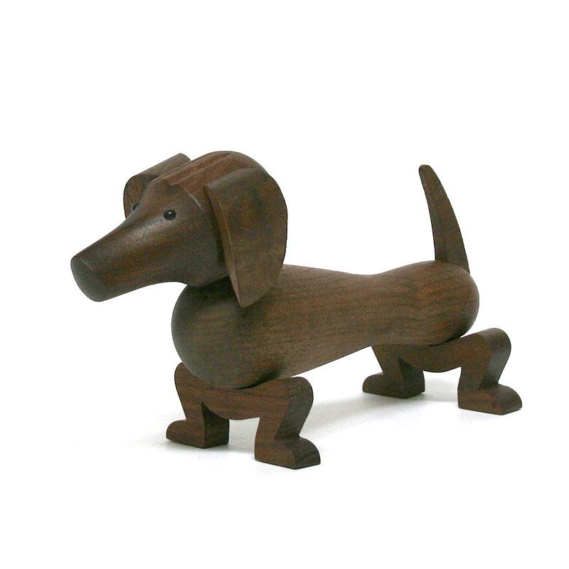 ダックスフンド / KAY BOJESEN DENMARK カイ・ボイスン デンマーク / インテリア 雑貨 北欧雑貨 木 動物 イヌ いぬ 犬 ドッグ dog オブジェ おもちゃ カイボイスン