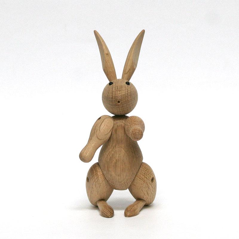 ウサギ / KAY BOJESEN DENMARK カイ・ボイスン デンマーク / インテリア 雑貨 北欧雑貨 木 動物 うさぎ 兎 ラビット rabbit オブジェ おもちゃ カイボイスン
