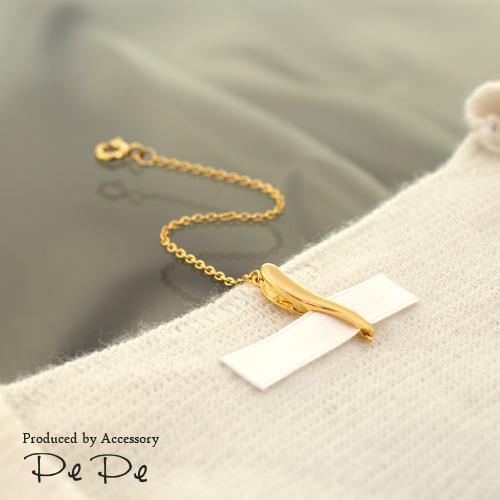 シルバー925(ロジウム・K18ゴールド)/ずれない/回らない/前にこない 【ネックレスのお悩み解決♪】チェーンの回転を防止する便利な金具…jewelead/ジュエリード