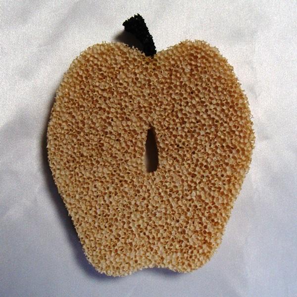 かわいいフルーツ型 珍しいグラス専用スポンジ キッチンスポンジ 最安値 アップル 2sp_120220_b 再入荷/予約販売!