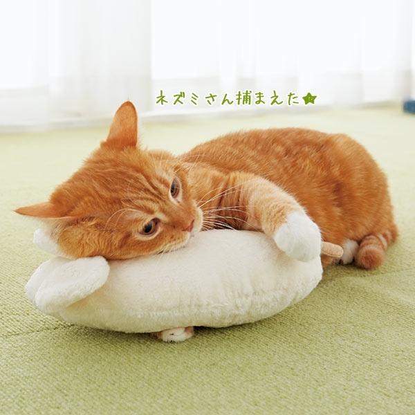 上質な国産オーガニック綿を使った猫用キッカーおもちゃ オーガニックコットン キャット ネズミ抱きまくら 値下げ 半額 猫用おもちゃ 綿 国産 PEPPY 安全 安心 オーガニック ペピイ ペット
