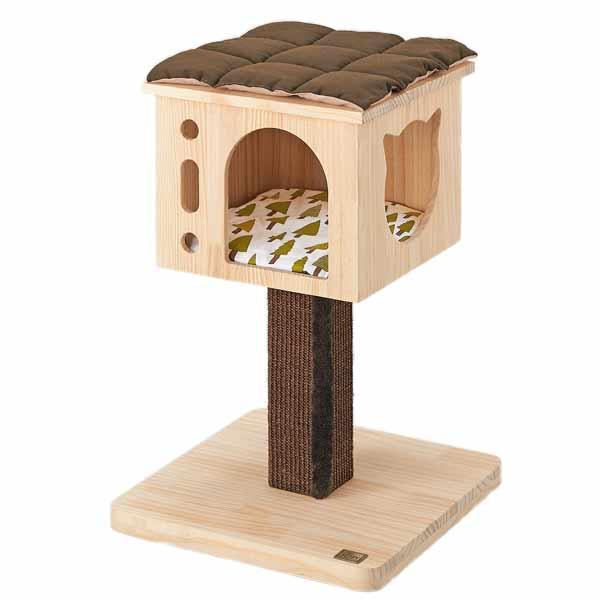 森のキャットツリー クラウド 猫 キャットタワー 猫タワー 据え置き 木製 シンプル おしゃれ インテリア ペット ペピイ PEPPY