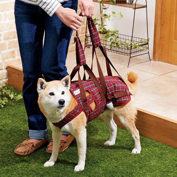 シニア 老犬 速乾 洗える 犬 小型犬 中型犬 大型犬 ペット PEPPY アシスタントバンド リフト 着丈37×バスト55・60×ウエスト53~58cm 介護 ハーネス 歩行補助 ペピイオリジナル