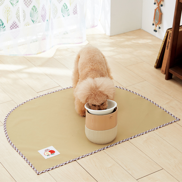 介助 老犬 老齢犬 犬 小型犬 中型犬 大型犬 猫 ペット 日本産 PEPPY 防滑防水ダイナグリップテーブルシート 80×60cm マット 滑り止め 介護 シニア 国産 グレー ベージュ ブラウン ペピイオリジナル