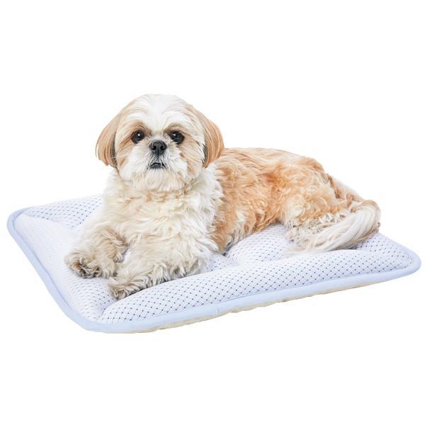 超クール・ウォッシャブルマット  L 犬 猫 ペット マット ベッド 夏用 ひんやり クール オーガニック リバーシブル 2way PEPPY ペピイ