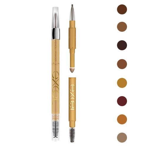 人気 おすすめ 3機能一体型で、これ一本で美人眉に まゆげ用ペンシル&パウダー&ブラシ 眉毛 EXCEL ノエビア エクセル パウダー&ペンシル アイブロウEX 0.4g カラー選択 国内正規品 EXCEL アイブロウ・眉マスカラ 郵便送料無料[TN50] 3機能一体型で、これ一本で美人眉に まゆげ用ペンシル&パウダー&ブラシ 眉毛 ノエビア