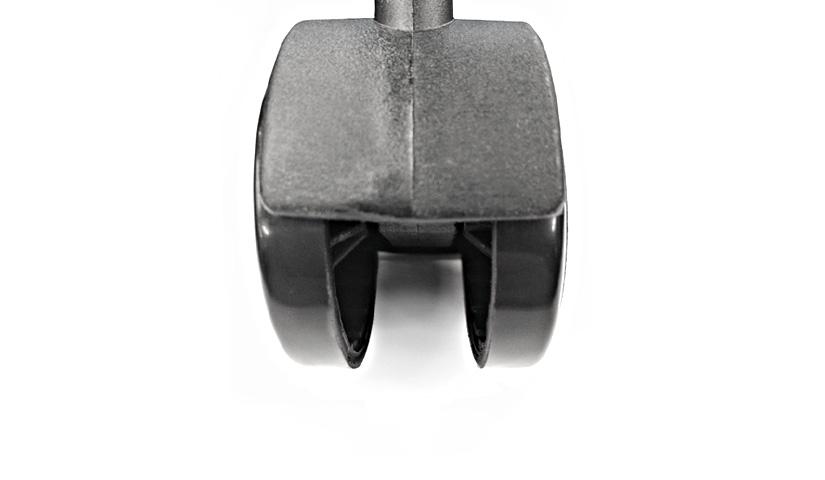 収納家具 ルミナス ラック スチールラック スチールシェルフ メタルシェルフ[19mm]ナイロンキャスター4個セット(ストッパーなし2個+ストッパー付2個) IHT40CSN2P-40CSL2P parts ルミナスラック 激安 ワイヤーシェルフ