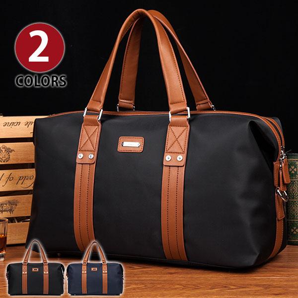 超ポイント祭10倍P Perfectbag ボストンバッグ 大容量旅行鞄 ショルダー付き 上質防水ナイロン 本革レザーベルト飾り メンズ レディース 男女兼用 トートバッグ 2色から選択 NL3006Im7vbyfgY6