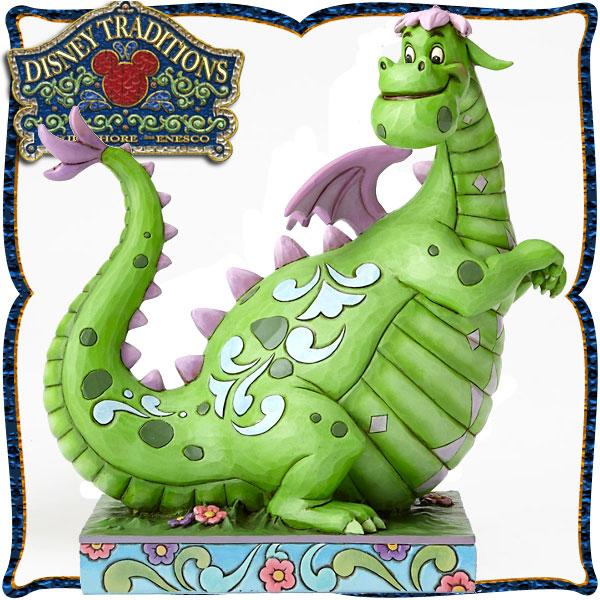 ディズニー 木彫り調フィギュア エリオット (ピートとドラゴン) 「Pete's Dragon」 ディズニー・トラディション sale 入園入学