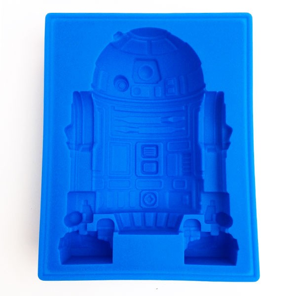 Child of the R2-D2 die cut silicon ice tray (ice tray) DX STAR WARS (Star  Wars) kitchen article white day gift chocolate boy woman