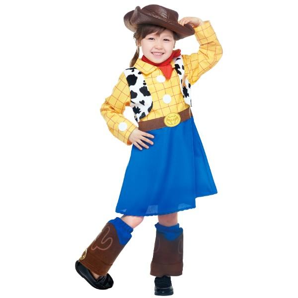 トイ・ストーリー4 ディズニー コスチューム 大人 ルービーズ 子ども用 ウッディ ウッディガール ディズニー コスチューム ウッディガール ウッディ トイストーリー トドラーサイズ ルービーズ(Rubie's) 女性用 トイ・ストーリー ウッディ