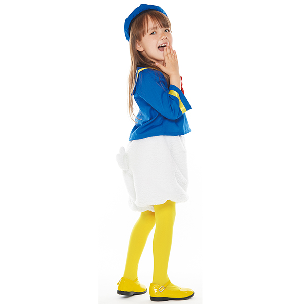 Small size for Disney costume child Disney costume child Donald: 5-7 years  old  Correspondence height: Approximately 100-120cm Disney formula item