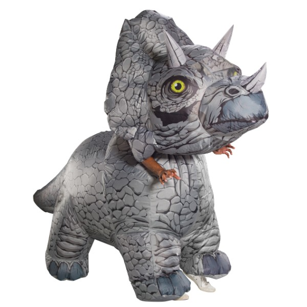 ディズニー コスチューム 大人 恐竜 コスチューム 大人用 トリケラトプス インフレイタブル