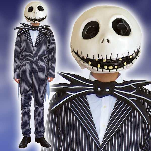 ディズニー コスチューム 大人 ルービーズ(Rubie's) 大人用 ジャック・スケリントン ディズニー コスチューム 大人 男性用 ジャック ナイトメア・ビフォア・ 仮装
