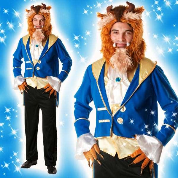ディズニー コスチューム 大人 ディズニーコスチューム大人男性用ビースト美女と野獣仮装