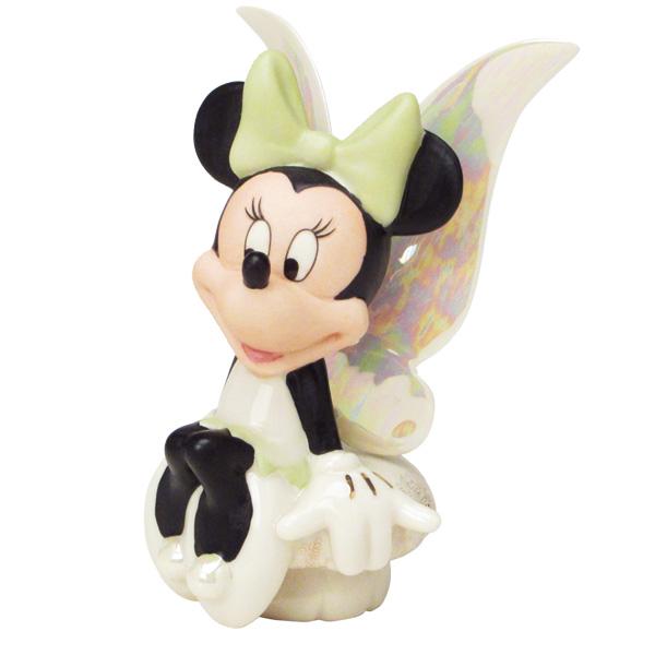 フィギュア ミニーマウス 「妖精ミニー 」 レノックス (米国)磁器製 取寄品3週間前後