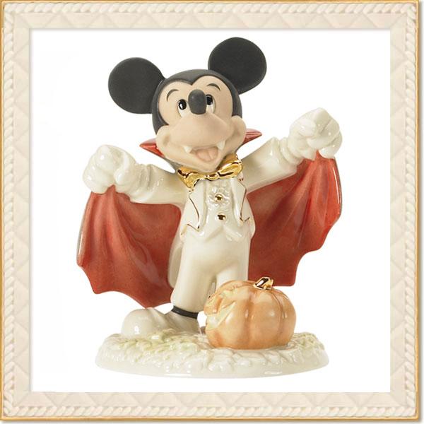 フィギュア ミッキーマウス 「ドラキュラミッキー 」 レノックス (米国)磁器製 取寄品3週間前後 sale 入園入学