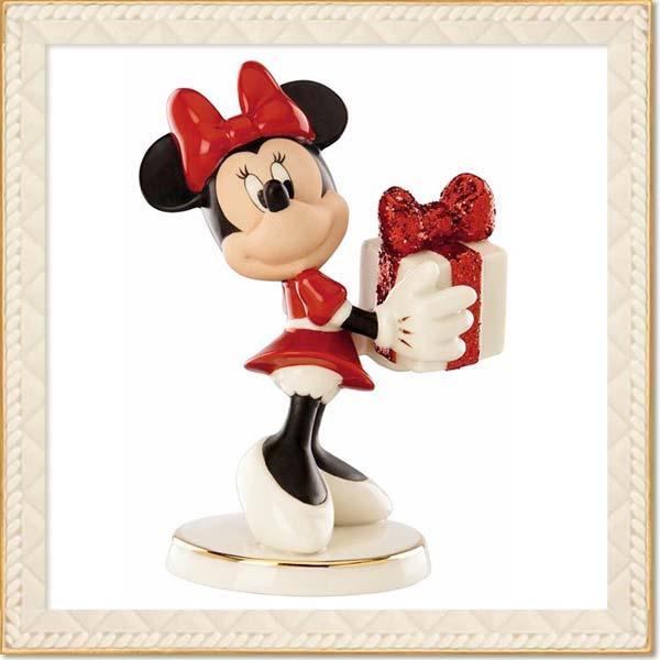 フィギュア ミニーマウス 「ミニー 」 レノックス (米国)磁器製 取寄品3週間前後