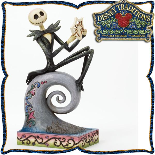 ディズニー 木彫り調フィギュア ジャック (ナイトメア・ビフォア・) 「Jack Skellington」 ディズニー・トラディション 在庫限り