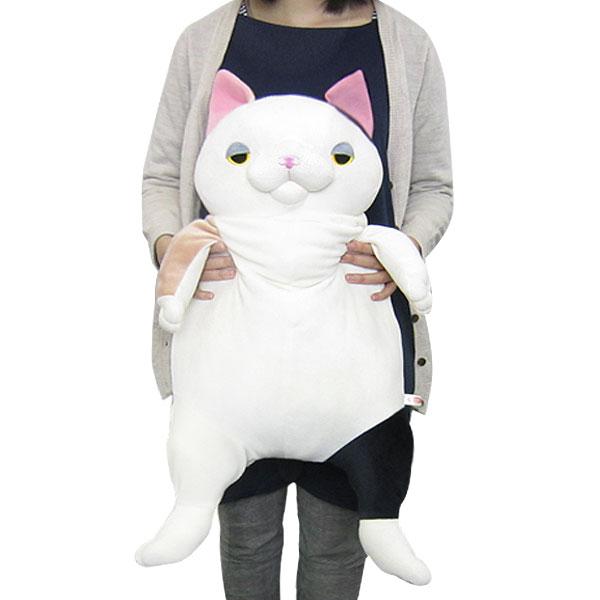 もちねこ ネコ 猫  ぬいぐるみ XL ミケ