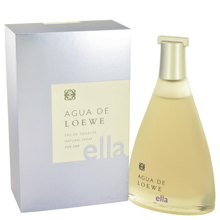 Agua De Loewe Ella by 在庫処分 香水 人気 ブランド 送料無料 海外直送 5.1 Women Toilette ml oz 151 高級品 Eau Spray