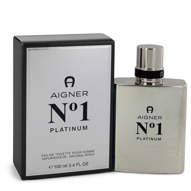 Aigner No. 1 Platinum by Etienne 評判 香水 人気 ブランド ml oz Spray 送料無料 通常便なら送料無料 EDT 海外直送 M 3.4 100