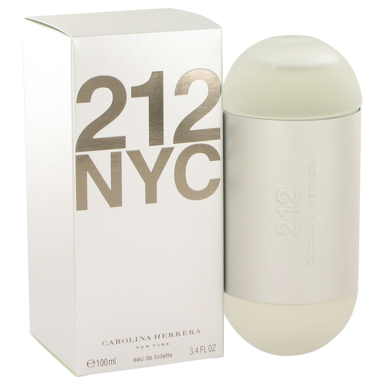 212 by Carolina ブランド激安セール会場 Herrera 香水 別倉庫からの配送 人気 ブランド 送料無料 EDT oz 3.4 F New ml Packaging Spray 100 海外直送