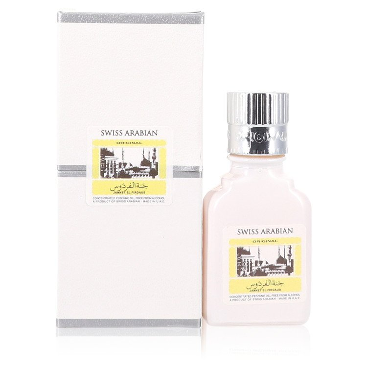 Jannet El Firdaus by 定価の67%OFF Swiss Arabian 香水 人気 ブランド 送料無料 Concentrated 価格 交渉 Perfume From 9 Free Oil 海外直送 .30 M White Attar oz ml Alcohol