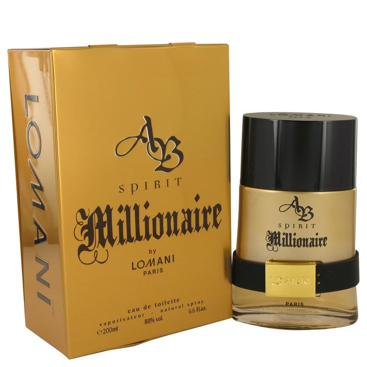 上品 Spirit Millionaire by Lomani 香水 人気 ブランド 定番から日本未入荷 送料無料 Eau Men ml 6.7 De 海外直送 200 oz Toilette Spray
