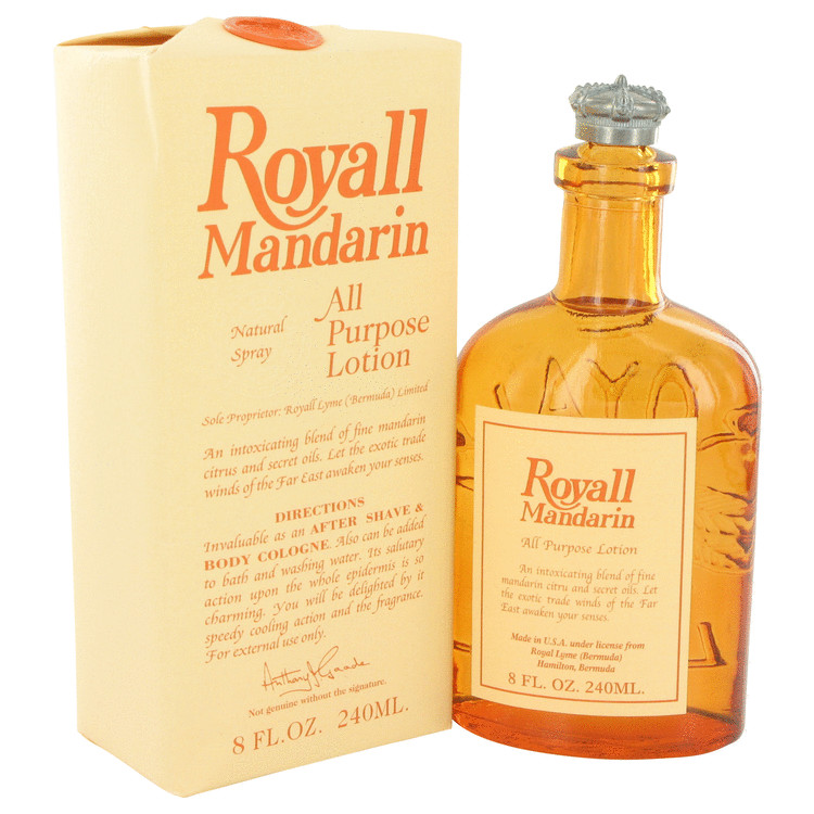 Royall Mandarin 迅速な対応で商品をお届け致します by Fragrances 香水 人気 ブランド 送料無料 All Lotion 240 ml ●手数料無料!! Purpose oz M Cologne 海外直送 8