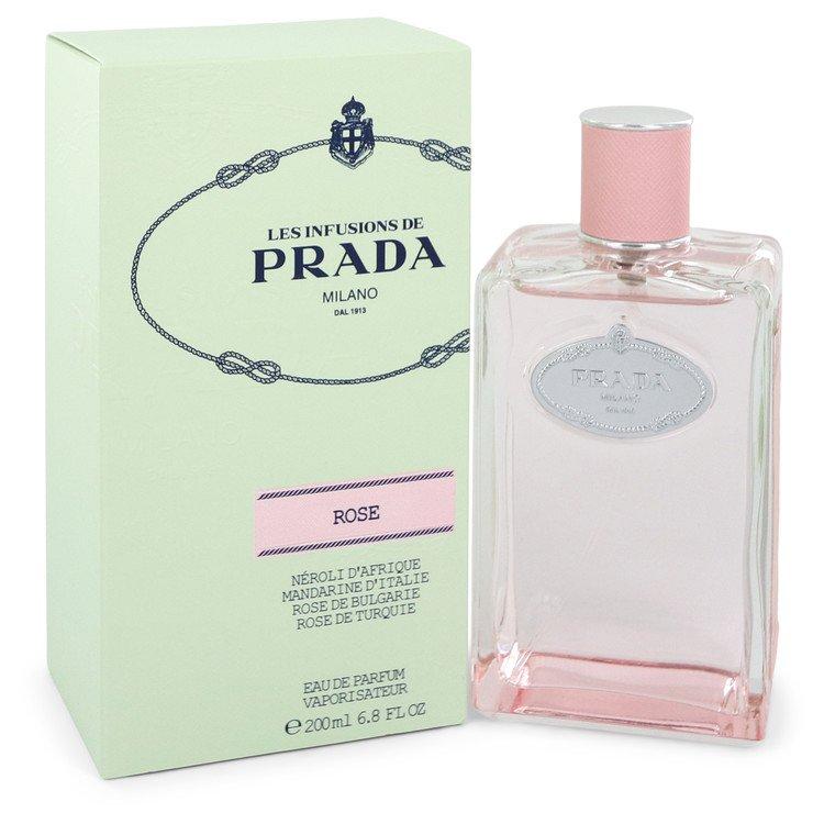 Prada Infusion De Rose by タイムセール SALENEW大人気! 香水 人気 ブランド 送料無料 Spray Women Parfum oz 6.8 ml Eau 200 海外直送