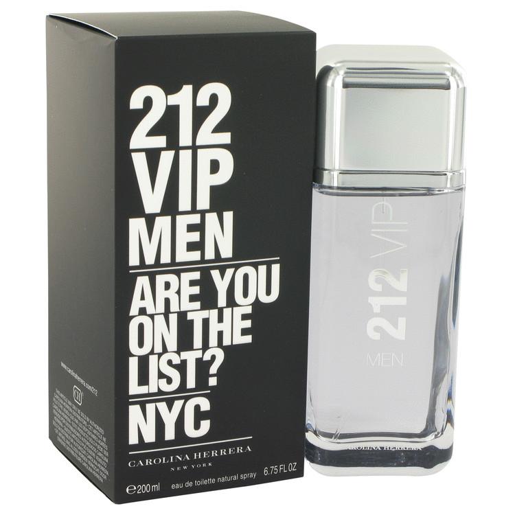 212 Vip by Carolina Herrera 香水 公式サイト 人気 ブランド 送料無料 Eau 海外直送 200 6.7 De Men oz バーゲンセール Toilette Spray ml