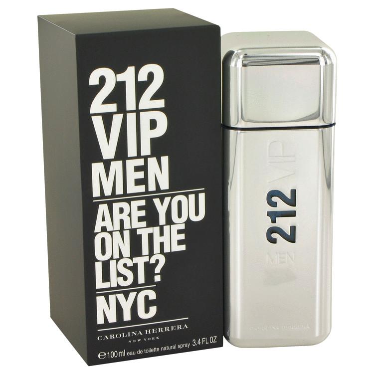 212 Vip by Carolina Herrera 香水 人気 ブランド 送料無料 Eau Spray oz Toilette ml 海外直送 お得クーポン発行中 Men 3.4 100 アウトレット De