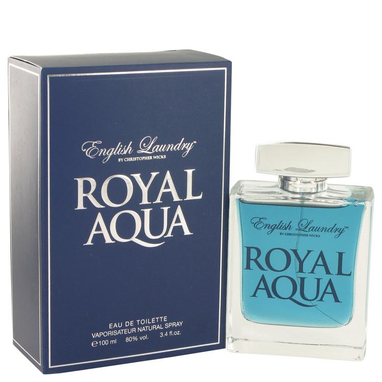 Royal Aqua by English サービス Laundry 香水 人気 ブランド 送料無料 Eau デポー De oz Spray Toilette 100 3.4 ml Men 海外直送