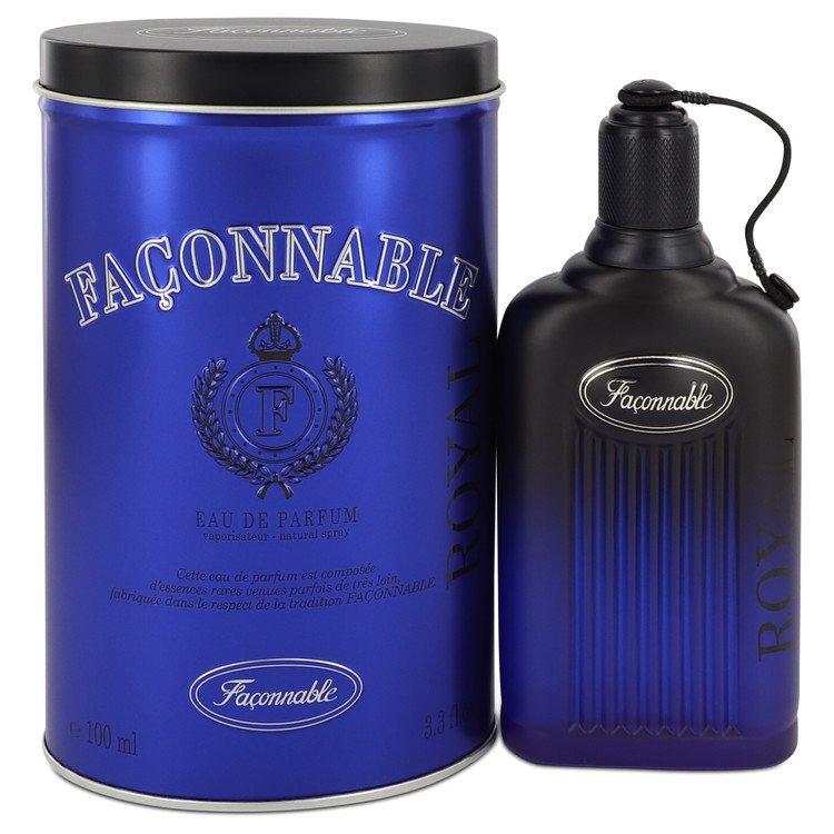 セール品 正規激安 Faconnable Royal by 香水 人気 ブランド 送料無料 Eau De Spray Parfum ml oz 100 Men 3.4 海外直送