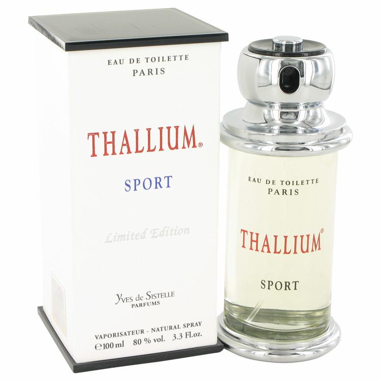 Thallium Sport by Parfums Jacques Evard 香水 人気 ブランド SEAL限定商品 送料無料 100 海外直送 EDT oz Spray M Limited 3.4 商い Edition ml