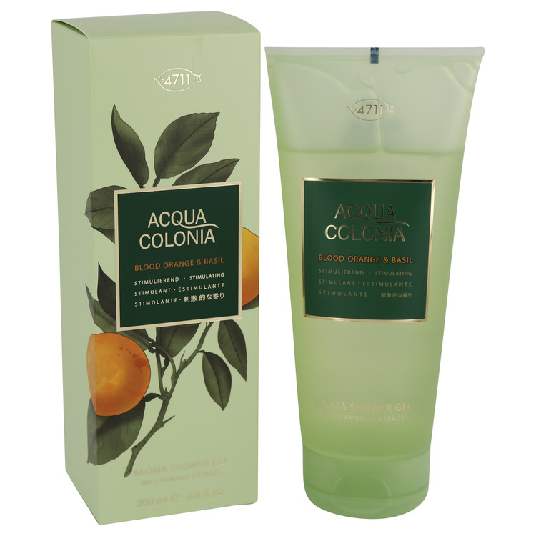 4711 Acqua Colonia Blood Orange Basil by Maurer Wirtz 香水 新作入荷 ※アウトレット品 人気 oz ブランド 海外直送 F 送料無料 ml 200 6.8 Shower Gel